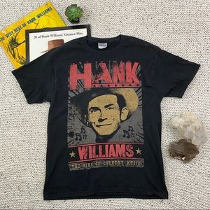 Hank Williams King of Country Music t-shirt